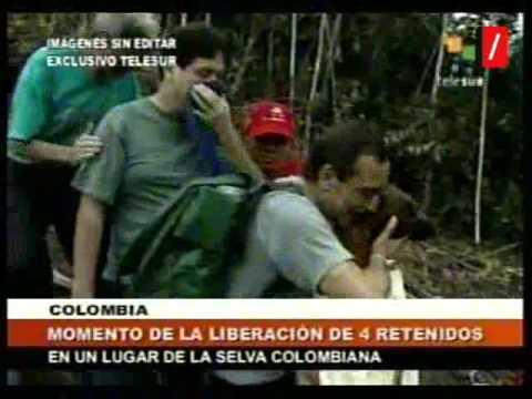 Primeras imágenes de la liberación de los secuestrados