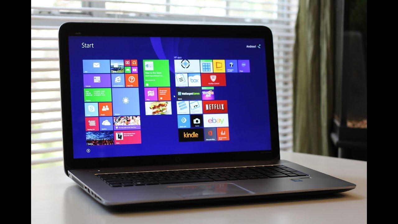 HP ENVY TouchSmart M7J120dx 17.3quot; Touchscreen Laptop Review  YouTube