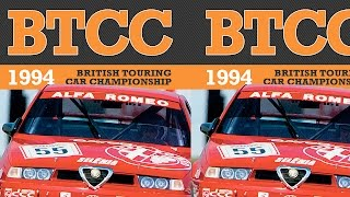 BTCC highlights | 1994 | Big Alfa Romeo Crash! Gabrieli Tarquini