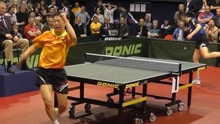 Dimitrij OVCHAROV vs MA Lin FINAL 1of 3 Games Russian Premier League Playoff Table Tennis