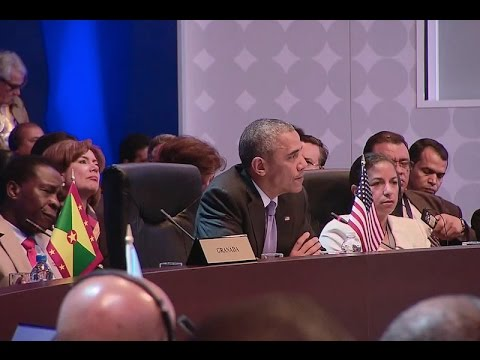 Remarks by President Obama at the First Plenary Session of the Summit of the Americas