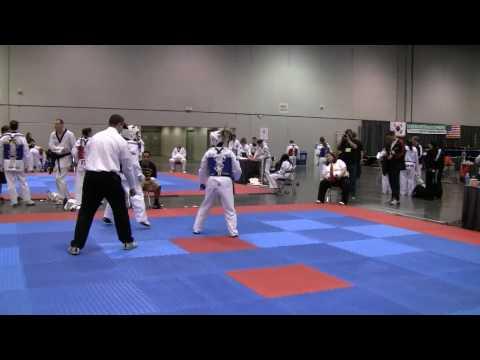 Alexandra Harrington Round 1 at the 2010 U.S. National Open Taekwondo Championship in Portland.