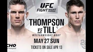 UFC Liverpool Stephen Thompson vs Darren Till Fight Companion