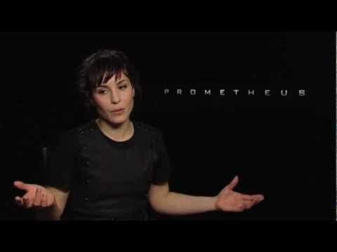 Noomi Rapace Interview -- Prometheus