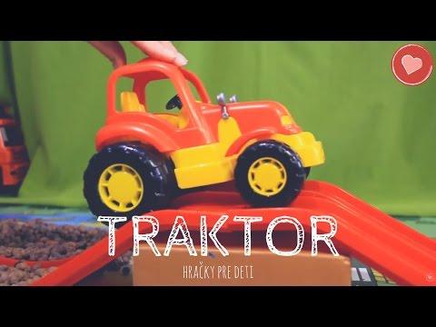 Hracky Pre Deti: Hrackarske Traktory Pre Deti  🚜 🚜 🚜