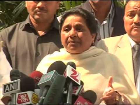 Km. Mayawati ji's  Speech about Land Acquisition Bill