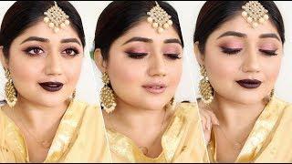 Indian festive Makeup for Diwali 2017