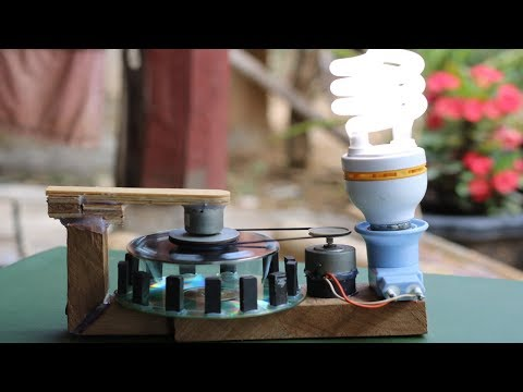 Free Energy Inventions With Screws DC Motor , Amazing Idea Science School Project 2018