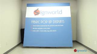 Fabric Pop Up Display