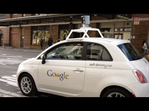 Google Driverless Car Punks NYC