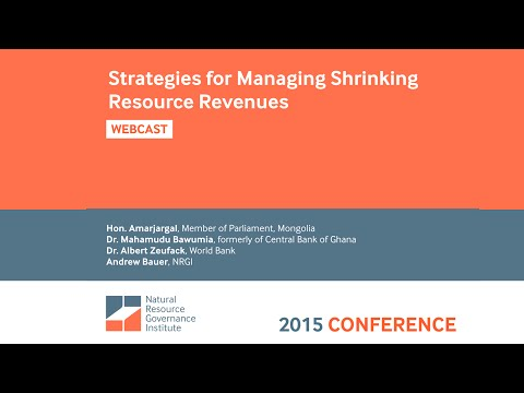 Strategies for Managing Shrinking Resource Revenues