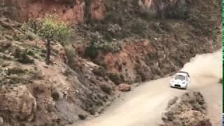 Crash Toyota Yaris WRC Almería - Jari-Matti Latvala