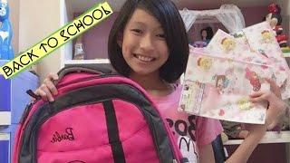 BACK TO SCHOOL || MÌNH CHUẨN BỊ GÌ KHI ĐI HỌC ? 🤫 || MINH ANH ANNIE 😋