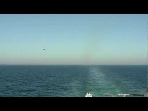 Air force jets flying over cruise ship in the arabian sea - to control?!