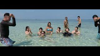 Meeting Hot Japanese Girls?! ( Cebu Island Hopping Part 2 - Nalusuan) 일본 여성들과의 인기투표!