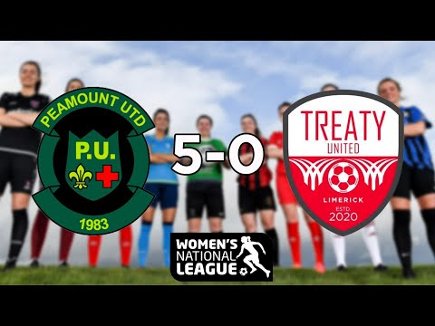 WNL GOALS GW1: Peamount United 5-0 Treaty United
