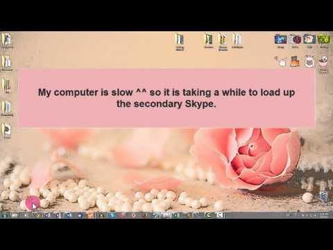 How to Run Multiple Skype Accounts on Windows 7  - Tutorial
