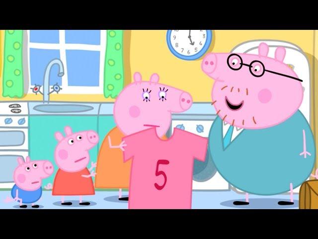 Peppa Pig Świnka Peppa po Polsku - Różowa Koszula Tatusia Świni - Najlepsze Odcinki