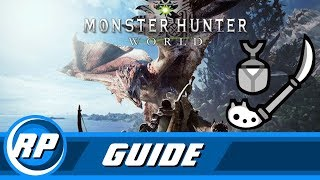 Monster Hunter World - Insect Glaive Progression Guide (Recommended Playing)