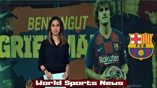 Antoine Griezmann New Signing Begins Training at Barcalona || World Sports News Today