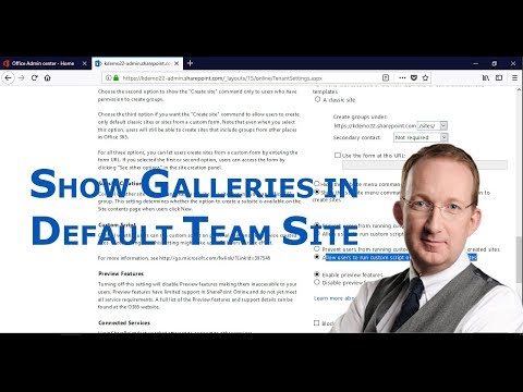 Show Full Site Settings in SharePoint Online Default Team Site
