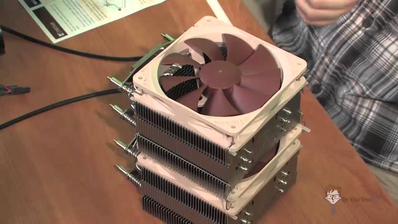 My Computer Is Too Loud Replacing The Heatsink And Fan
