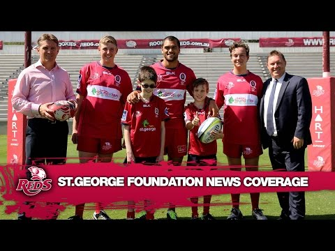 St.George Queensland Reds media coverage ahead of this Friday's charity match