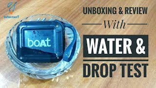 Boat Stone 200 Bluetooth Speaker Unboxing & Review With Water & Drop Test