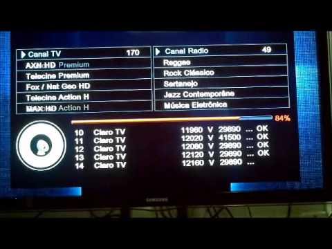 Azamerica S922HD configurando e colocando o aparelho pra Rodar todos Canais