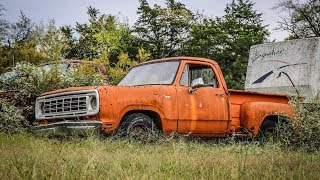 ABANDONED Junkyard Truck Runs and Drives After 13 Years