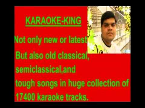 karaoke teri galiyon mein na - Mohd. rafi..flv