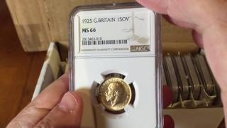 Final Countdown! The first NGC coins have arrived and here is how it went
