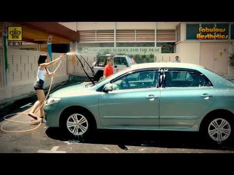 Charity Car Wash - Miss Singapore Beauty Pageant 2013