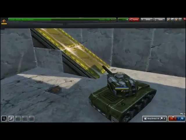 танки онлайн паркур крушение