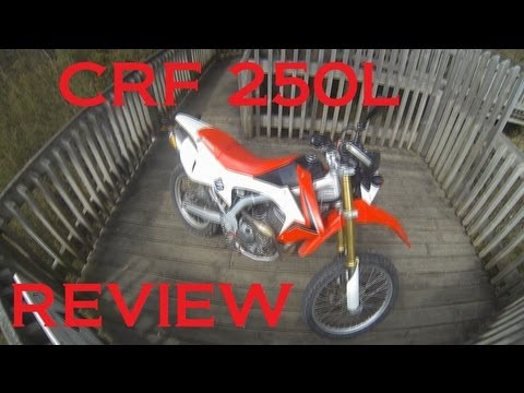 2013 CRF250L review