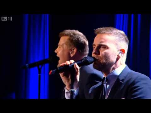 Gary Barlow & James Corden - Pray @ Manchester Apollo