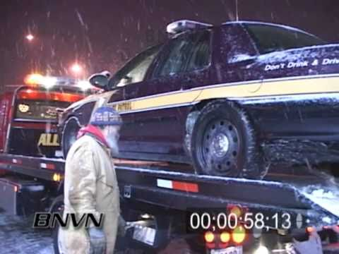 12/25/2007 Christmas Snow Road Hazard Footage