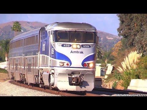 Trains in LA, Santa Barbara & South Orange County (September & October 2014)