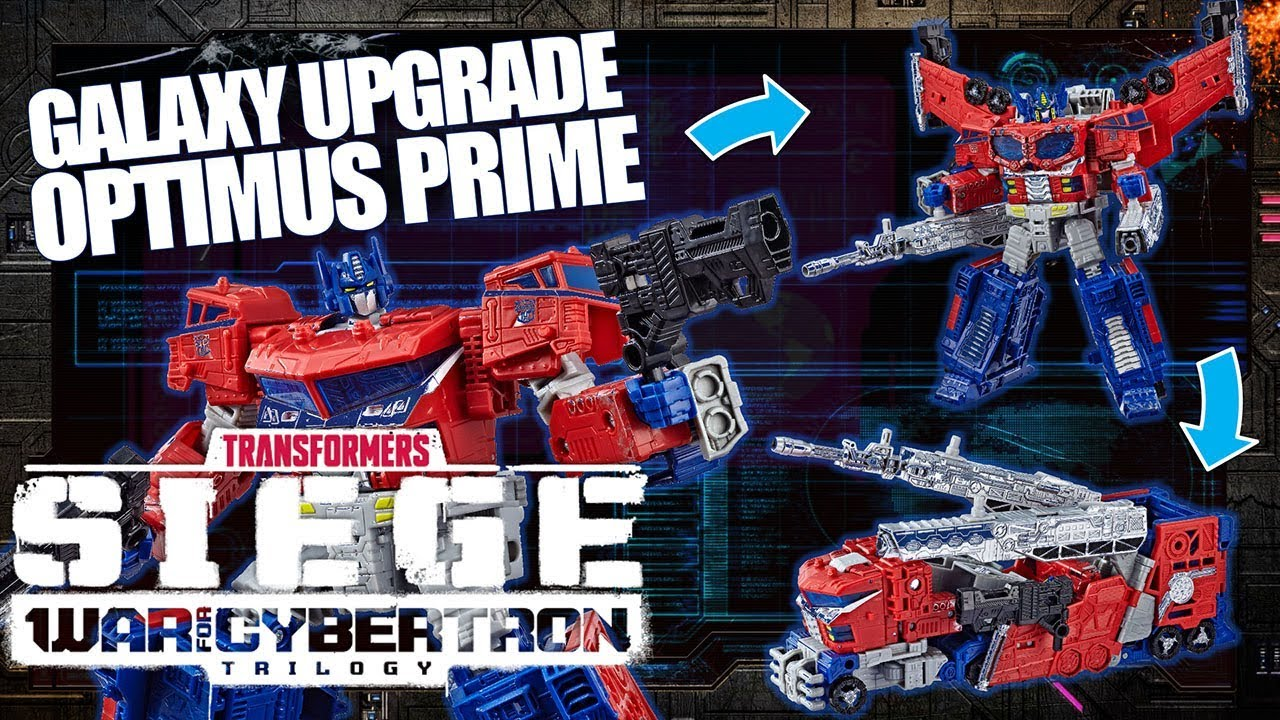 How to Convert Galaxy Upgrade Optimus Prime | Transformers War for Cybertron: Siege