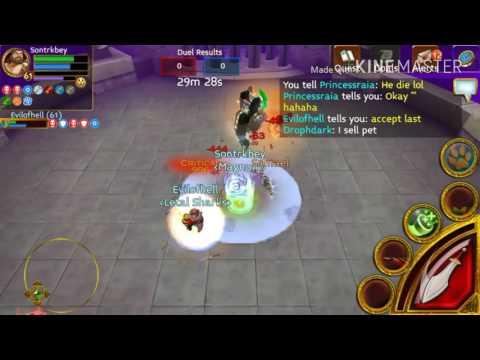 Arcane Legends Sontrkbey VS Evilofhell