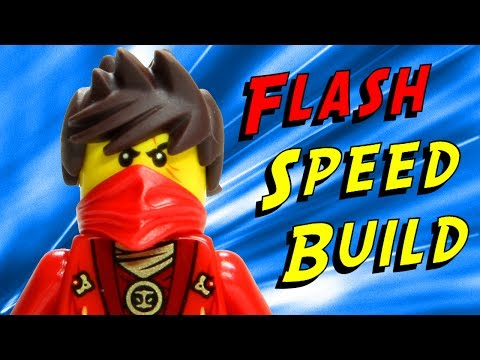 Animated LEGO Kai Fighter 70721 Ninjago Flash Speed Build
