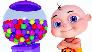 Learn Colours With Baby Ball Machine   Learning Videos For Babies   Videos for Toddlers