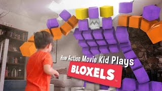 How Action Movie Kid Plays BLOXELS   |  Sponsored
