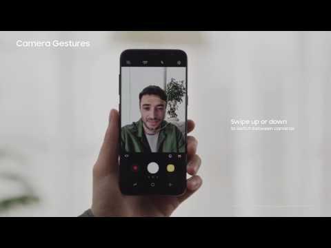 Samsung Galaxy S8: Tutorial - Basic Gestures & Multitasking