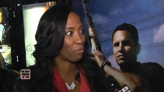 Shondrella Avery Interview at End of Watch (2012) Movie Meet and Greet