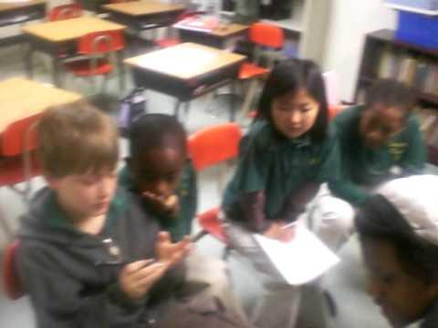 Reading to the kids at Bridgeport Hope School