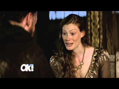 Alyssa Sutherland Talks 'Vikings'