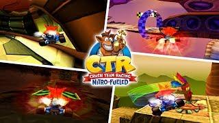 Crash Team Racing - All Shortcuts and Tricks (Glitch shortcuts)