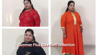 Amazon Plus Size Summer Kurti Collection Under 1200....