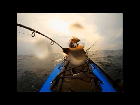 Kayak Fishing Bluefin Tuna 400 Pounds
